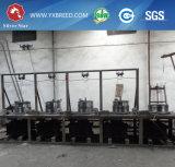 Cage de batterie automatique de machine de ramassage d'oeufs