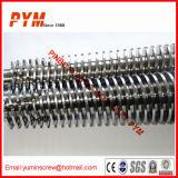 Barril paralelo del tornillo para el tubo del PVC