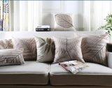 L'annata tropicale della cassa dell'ammortizzatore del coperchio lascia il cuscino domestico dell'ammortizzatore di Decorective