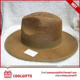 Chapéu de palha da fita do verão da forma com a borda grande para mulheres