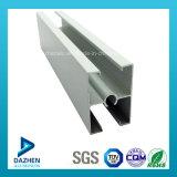 La polvere personalizzata della stoffa per tendine del portello della finestra della Nigeria ha ricoperto il profilo dell'alluminio delle 6063 leghe