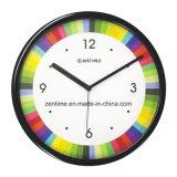최신 판매 다채로운 장식적인 선전용 도매 벽시계