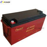 Batterie libre de gel de longue vie de la maintenance 12V 200ah pour solaire/vent
