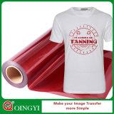 Винил передачи тепла яркия блеска оптовой низкой цены Qingyi и хорошего качества для тенниски