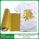 Migliore vinile di scambio di calore di scintillio dell'indicatore luminoso di qualità di Qingyi per vestiti