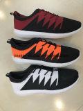 O conforto Running claro Flyknit dos acessórios dos calçados atléticos dos homens ostenta sapatas