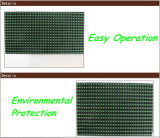 خارجيّة مسيكة اللون الأخضر [لد] عرض وحدة نمطيّة [320مّ160مّ] 1/4 يمسح [ب10] [لد] انحدار لوح إعلان متحرّك رسالة وحدة نمطيّة