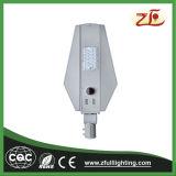 Avaliação do IP IP67 e luz de rua solar branca pura da temperatura de cor (CCT)