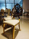 Aço inoxidável por atacado quente nobre que janta a cadeira para o banquete/restaurante/casa