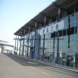 Costruzione della sala d'esposizione dell'automobile della struttura del metallo con il migliore disegno