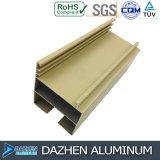 Perfil de aluminio de la protuberancia de aluminio para el marco modificado para requisitos particulares de la puerta de la ventana