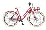 Marco de la aleación de la bicicleta del mecanismo impulsor de correa de señora Vintage Style/bici sin cadena de la ciudad de la bicicleta de la correa/de la correa/velocidad transmitida por banda del nexo 3 o 7 de la bicicleta con el neumático de los 28in