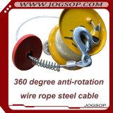 0.5t Excellente grille électrique à câbles Mini
