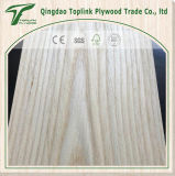 Linyi Engineered blanco de la cara roja de chapa de madera de nogal chapa engineerd