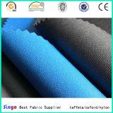 Tela de materia textil al por mayor de la capa de la TPE Uly del PVC de la PU 600d para los bolsos de la caza