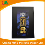 Rectángulo cosmético de empaquetado cosmético de encargo del cosmético del rectángulo de papel de la marca de fábrica del rectángulo