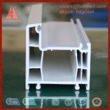 Profil en plastique de la coextrusion UPVC de couleur pour le guichet et la porte