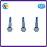Pin della testa di esagono del acciaio al carbonio del fermo della flangia 4.8/8.8/10.9 M6/Galvanized/asta cilindrica/vite