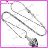 Halsketten für Verbrennung verascht Inner-Anhänger mit Kratzern Ijd9745