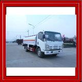 caminhão móvel do reabastecimento do M3 Isuzu do caminhão de petroleiro do petróleo 6000L