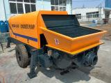 Bomba de betão móvel com motor a diesel