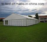 форменный шатер изумляя 3000 людей прозрачные для шатра свадебного банкета