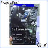 Soporte para coche Smartphone con cargador de mechero USB (XH-UC-033)