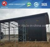 Maison de volaille avec équipement de cage