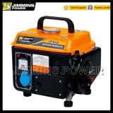 650VA / 750 VA / 950va refrigerado por aire monofásico de gasolina portátil generador con 2 Polo (110 50Hz 3000 rpm / 220/230 / 240V)