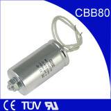 Fertigung-kundenspezifischer Leuchtstofflampen-Kondensator 8UF 250VAC
