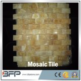 内部の床デザインのための自然な磨かれたMultuカラー大理石のモザイク