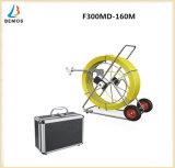 """sistema de inspeção impermeável 7 """" LCD DVR HD 1000tvl do dreno do encanamento da tubulação da câmera do esgoto de 160m"""