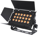 arandela de interior LED de la pared de 18X10W RGBW 4in1