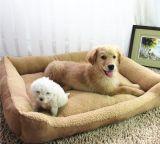 Base dell'animale domestico del tessuto del panno morbido di Berber di tre formati per il cane