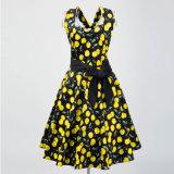 Suzhou-Maxi Dame-reizvolle Blumensommer-Strandhalter-Kleider