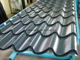 Telhadura ondulada galvanizada do metal e painéis de tapume ondulados