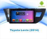 トヨタLevinのための人間の特徴をもつシステム車DVD GPSの運行Bluetoothの10.1インチのタッチ画面かエムピー・スリーまたはWiFi