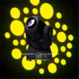 luz principal movente do evento do disco do DJ do americano do mini ponto do diodo emissor de luz 10W