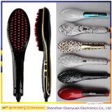 Spazzola superiore del raddrizzatore dei capelli dell'affissione a cristalli liquidi di trasporto veloce