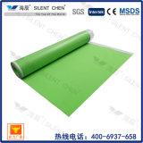 3mm grüner EVA Schaumgummi-Unterlage-Teppich für lamellenförmig angeordneten Bodenbelag