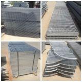 Anti acero óxido suelo de rejilla para evitar que el agua estancada