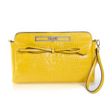 Sacchetto di Crossbody del Wristlet del sacchetto di spalla di modo del sacchetto del messaggero della signora cuoio genuino nuovo