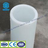 Tubo latteo del quarzo, tubo del quarzo del grande diametro