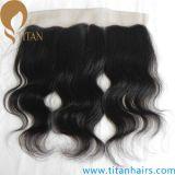 Fermeture indienne ondulée avant normale de lacet du cheveu 360 de Vierge