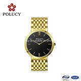 Het hete Verkopende Horloge van de Mensen van de Manier van het Horloge van het Roestvrij staal van het Ontwerp van Producten Eenvoudige