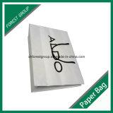 Мешок бумаги искусствоа напечатанный бумажный с UV залакированным логосом