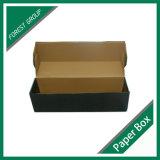 장방형 까만 광택 있는 물결 모양 수송용 포장 상자 (FP8039132)