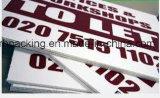 stampa di plastica ondulata dello strato/Correx/Coroplast/Corflute di 1220mm*2440mm *2mm 3mm 4mm 5mm pp direttamente con la stampa dello schermo/stampa di Digitahi