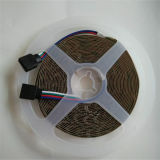 SMD3014 luz de tira doble del color LED