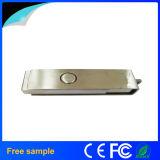 Китай Manufacter поворачивает ручку 8GB USB закрутки металла нержавеющей стали